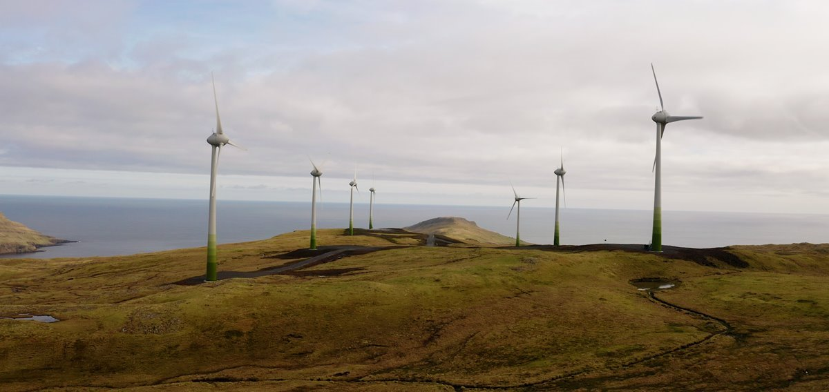40% green energy in the first half-year of 2021