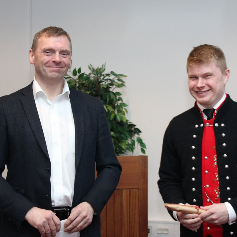 Jóhan fekk 1. virðisløn