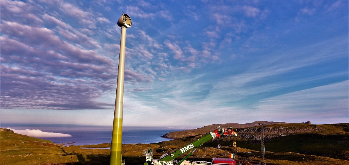 Porkeri Wind Farm taking shape