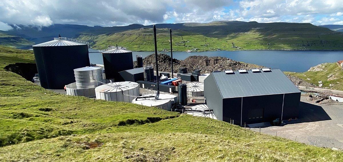 Biogassverkið gott ískoyti á grønu kósini
