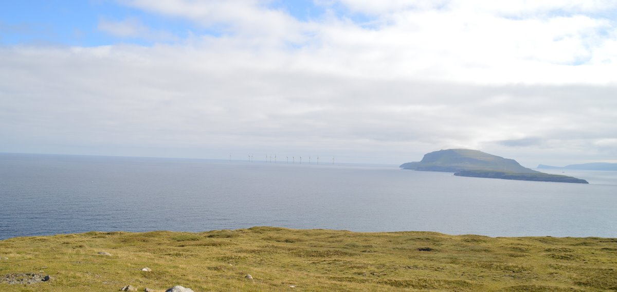 The Faroes' first offshore wind farm