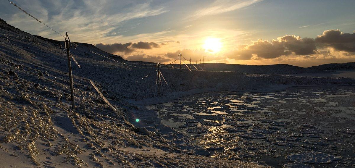 Illveðrið ávirkaði streymveitingina